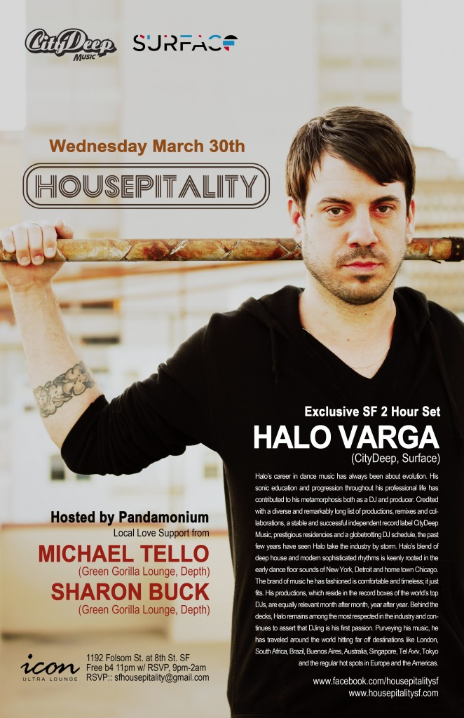 Halo Varga at Housepitality SF