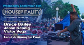 Housepitality presents the SF debut of Bruce Bailey - Detroit's best kept secret