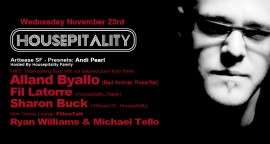 Housepitality presents THANKSGIVING with ALLAND BYALLO - FREE PARTY!