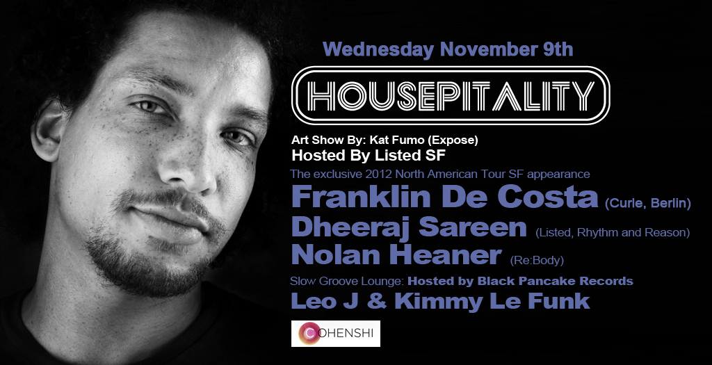 Franklin De Costa at Housepitality