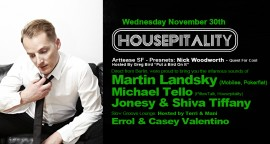 Martin Landsky at Housepitality