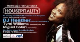 DJ HEATHER at Housepitality