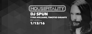 Dj Spun Housepitality 2016