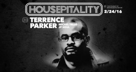Terrence Parker is set to tear the roof off the Housepit... Love's Got US HIGH!!!