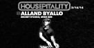 Alland Byallo returns to Housepitality - March 16th 2016
